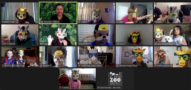 El Paso Zoo Camp